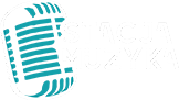 stacja muzyka logo biale